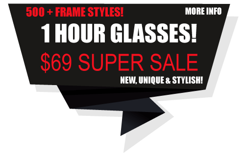 Fort Lauderdale Replacement Glasses in 1 hour!